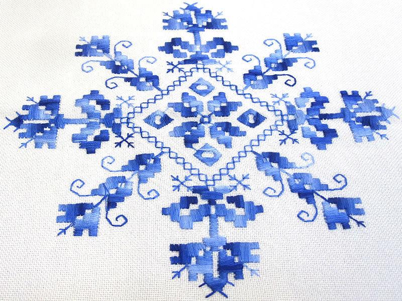 Thermal curtains - Lagartera Tableclothe 17 Lagarterana