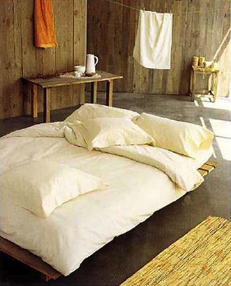 Cojin algodon ecologico - Cojin lectura cama ...
