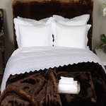 SWISS EMBROIDERY BED SHEET
