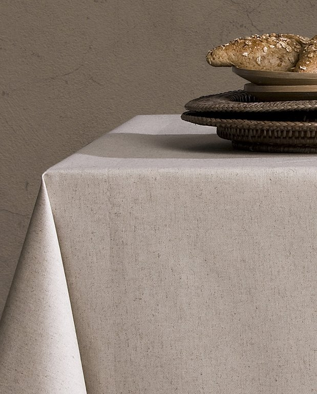 Mantel lino antimanchas - Manteles de lino ...