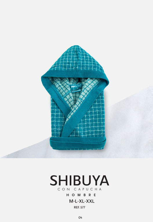 Shibuya Bathrobe 100 Cotton