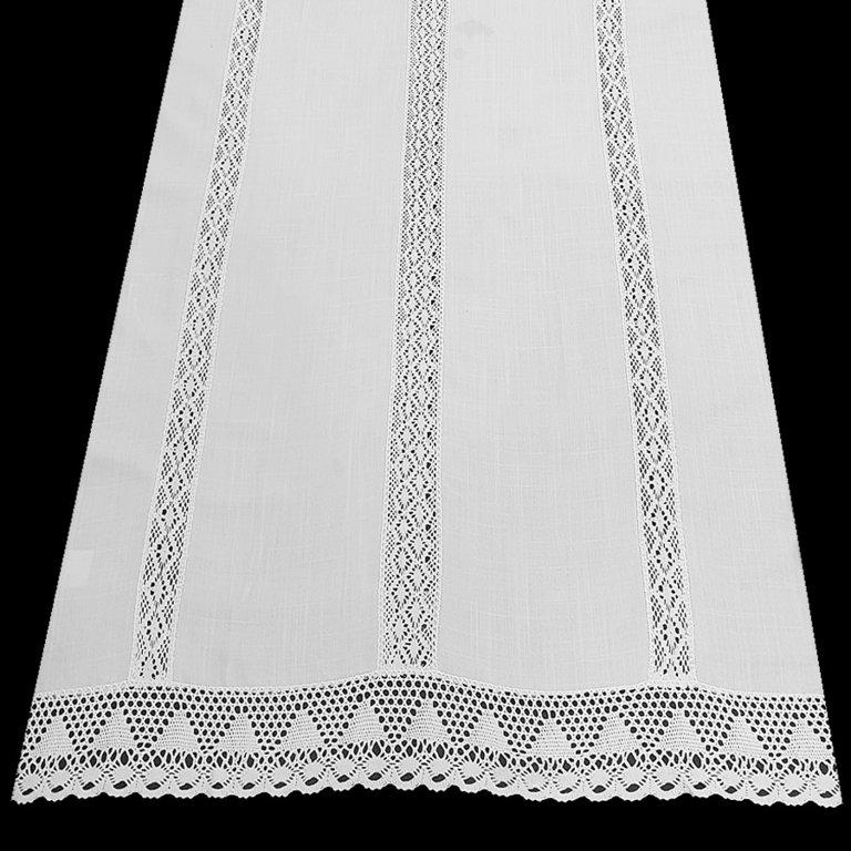 Cortinas puntillas y entredos verticales - Puntillas para cortinas ...