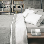 GREY STRIPES BED SHEETS