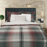 200 THREAD COUNT DUVET COVER TARTAN PLAID