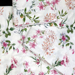 STAMPED DUVET COVER BELL FLOWERS