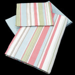 STRIPED FLANNEL SHEET SET