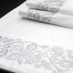 EMBROIDERY EDGED SHEET SET