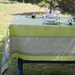 LINEN DAMASK TABLECLOTHS II