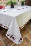 TABLECLOTH WITH EMBROIDERY EDGING II