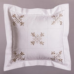TRADITIONAL EMBROIDERED CUSHION
