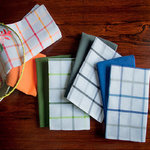 KITCHEN TOWELS SQUARES/PLAIN