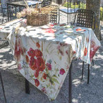 TABLECLOTH POPPY LINEN