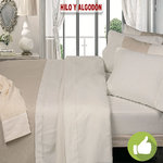 LINEN/COTTON DUVET COVER
