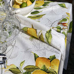 TABLECLOTH LIMONCELLO LINEN