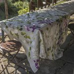 TABLECLOTH MAGNOLIAS COTTON