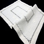 TAPETE TRAY FLAT LINEN EMBROIDERY