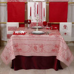 LINEN DAMASK TABLECLOTHS GRAPES