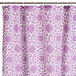 MANDALA PURPLE BATH/SHOWER CURTAIN