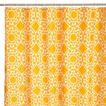 MANDALA YELLOW BATH/SHOWER CURTAIN