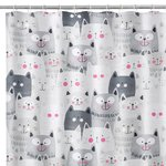 CATS BATH/SHOWER CURTAIN