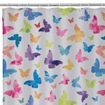 BUTTERFLIES BATH/SHOWER CURTAIN