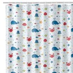 AQUARIUS BATH/SHOWER CURTAIN