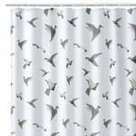 ORIGAMI BATH/SHOWER CURTAIN
