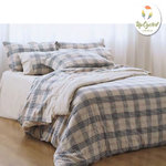 SQUARE FLANNEL DUVET COVER