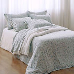 FLOWERS FLANNEL DUVET COVER