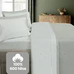 600 THREADS SHEET SET HEMSTITCH